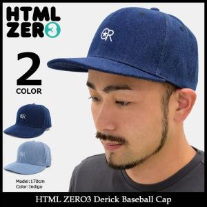 【送料無料】エイチティエムエル ゼロスリー HTML ZERO3 キャップ メンズ デリック ベースボールキャップ(Derick Baseball Cap 帽子)|icefield
