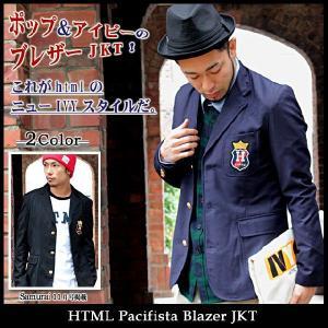 エイチ・ティー・エム・エル html パシフィスタ ブレザー ジャケット(HTML Pacifista Blazer JKT)|icefield