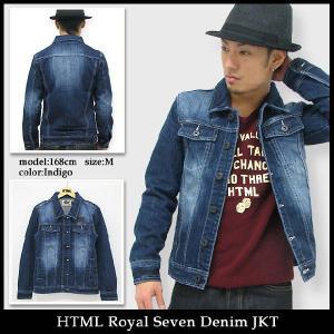 エイチ・ティー・エム・エル html ロイヤル セブン デニム ジャケット(HTML Royal Seven Denim JKT)|icefield