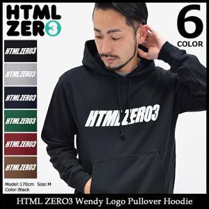 エイチティエムエル ゼロスリー HTML ZERO3 プルオーバー パーカー メンズ ウェンディ ロゴ(Wendy Logo Pullover Hoodie)|icefield