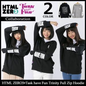 【11月末入荷予定】エイチティエムエル ゼロスリー HTML ZERO3 パーカー メンズ タスク ハブ ファン トリニティ フル ジップ フーディー|icefield