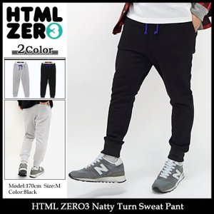 エイチティエムエル ゼロスリー HTML ZERO3 パンツ メンズ ナッティ ターン スウェットパンツ(Natty Turn Sweat Pant ボトムス)