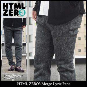 【送料無料】エイチティエムエル ゼロスリー HTML ZERO3 パンツ メンズ マージ リリック(Merge Lyric Pant ボトムス HTML-PT099)|icefield