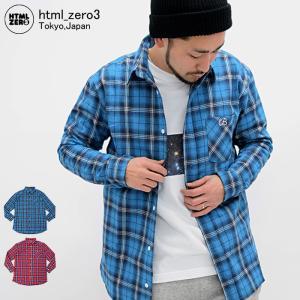 エイチティエムエル ゼロスリー HTML ZERO3 シャツ 長袖 メンズ グランド ショット ロング(Grand Shot Long L/S Shirt ロング丈 トップス)