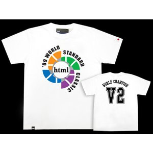 html(エイチ・ティー・エム・エル) V2 S/S Tee Limited Edition【Tシャツ ティーシャツ 半袖】