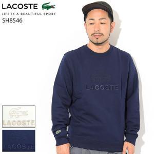 ラコステ トレーナー LACOSTE メンズ SH8546L クルー スウェット(lacoste S...