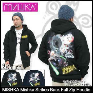 ミシカ MISHKA パーカー ミシカ ストライクス バック ジップアップ Parka(mishka Mishka Strikes Back Full Zip フーディ Hoody メンズ FL121217CZP)|icefield