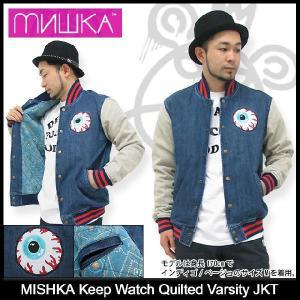 ミシカ MISHKA ジャケット キープ ウォッチ キルテッド バーシティー Jacket(mishka Keep Watch Quilted Varsity JAKET スタジャン メンズ FL121305B)|icefield