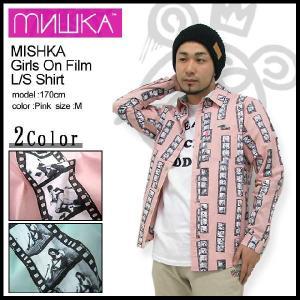 ミシカ MISHKA シャツ 長袖 ガールズ オン フィルム Shirts(mishka Girls On Film L/S Shirt シャツ トップス メンズ FL121407B)|icefield