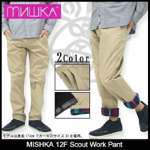 ミシカ MISHKA 12F スカウト ワーク パンツ(mishka 12F Scout Work Pant チノパン ボトムス メンズ FL121902B)|icefield