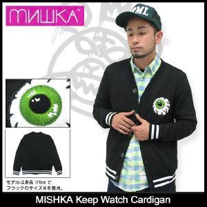 ミシカ MISHKA キープ ウォッチ カーディガン(mishka Keep Watch Cardigan トップス メンズ FL13-1201A)|icefield