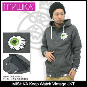 ミシカ MISHKA キープ ウォッチ ビンテージ ジャケット(mishka Keep Watch Vintage JKT JACKET JAKET スタジャン アウター メンズ FL13-1203A)|icefield