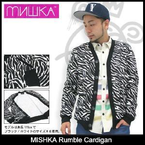 ミシカ MISHKA ランブル カーディガン(mishka Rumble Cardigan トップス メンズ FL13-1205A)|icefield