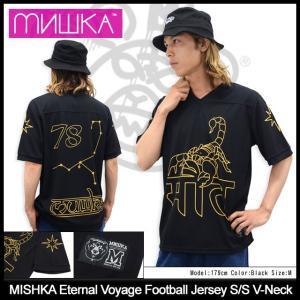 ミシカ MISHKA カットソー 半袖 メンズ エターナル ボヤージュ フットボール ジャージ(Eternal Voyage Football メンズ・男性用 SP151137)|icefield