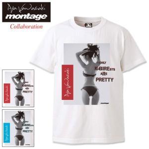 モンタージュ Tシャツ 半袖 montage メンズ 川崎あや バック スタイル アナーキー コラボ...