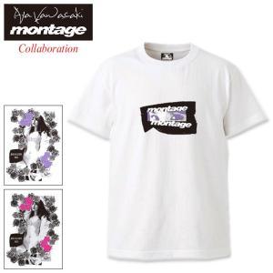 モンタージュ Tシャツ 半袖 montage メンズ 川崎あや リアライズ ミー コラボ(monta...