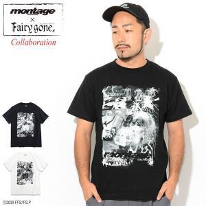 モンタージュ Tシャツ 半袖 montage メンズ フェアリーゴーン ストーリー マインド コラボ...