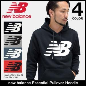 ニューバランス new balance プルオーバー パーカー メンズ エッセンシャル(Essential Pullover Hoodie トップス 男性用 AMT73529) icefield