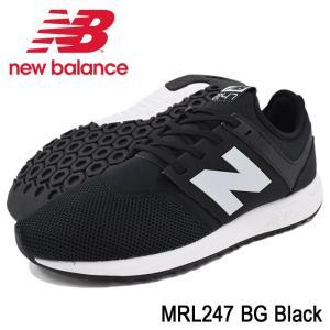 ニューバランス new balance スニーカー メンズ 男性用 MRL247 BG Black(newbalance MRL247 BG ブラック MRL247-BG) icefield
