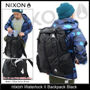 ニクソン nixon リュック ウォーターロック 2 バックパック ブラック(nixon Waterlock II Backpack Black メンズ レディース NC1952000)|icefield