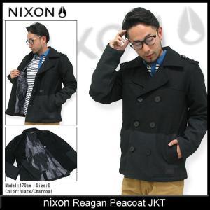 ニクソン nixon レーガン ピーコート ジャケット(nixon Reagan Peacoat JKT Pコート アウター トップス ジャケット メンズ 男性用 NS2065) icefield