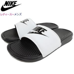 【送料無料】ナイキ NIKE サンダル レディース & メンズ ベナッシ JDI White/Black(BENASSI JDI シャワーサンダル ホワイト 343880-100)