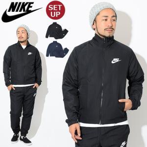ナイキ NIKE セットアップ メンズ ウーブン ベーシック トラックスーツ ジャケット アンド パンツ(Woven Basic Track Suit 861779)|icefield