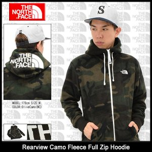 ザ ノースフェイス THE NORTH FACE パーカー ジップアップ メンズ リアビュー カモ フリース(Rearview Camo Fleece Hoodie NL71445)