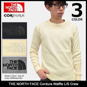 ザ ノースフェイス THE NORTH FACE カットソー 長袖 メンズ コーデュラ ワッフル(Cordura Waffle L/S Crew トップス NT11731)|icefield
