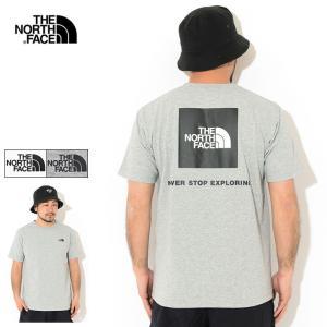 送料無料 ザ ノースフェイス Tシャツ 半袖 THE NORTH FACE メンズ バック スクエア ロゴ ( Back Square Logo S/S Tee 2021春夏 NT32144 )|ice field