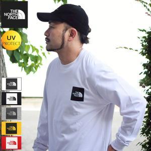 送料無料 ザ ノースフェイス Tシャツ 長袖 THE NORTH FACE メンズ スクエア ロゴ ...