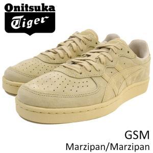 オニツカタイガー Onitsuka Tiger スニーカー メンズ 男性用 ジーエスエム Marzipan/Marzipan(Onitsuka Tiger GSM ベージュ D5K1L-0505)|icefield
