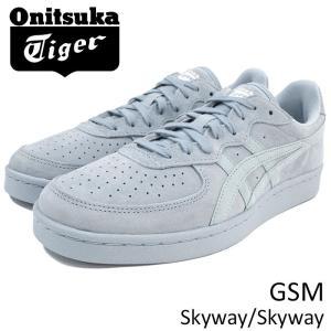オニツカタイガー Onitsuka Tiger スニーカー メンズ 男性用 ジーエスエム Skyway/Skyway(Onitsuka Tiger GSM ブルー D5K1L-3939)|icefield