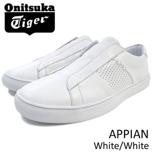 オニツカタイガー Onitsuka Tiger スニーカー メンズ 男性用 アッピアン White/White(APPIAN ホワイト スリッポン D742L-0101 TH742L-0101)|icefield