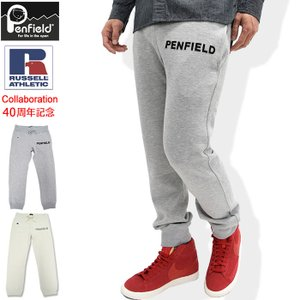 ペンフィールド Penfield パンツ メンズ ラッセル アスレティック ロゴ スウェットパンツ(RUSSELL ATHLETIC Pant 男性用 PF-2015AW-0210)|icefield