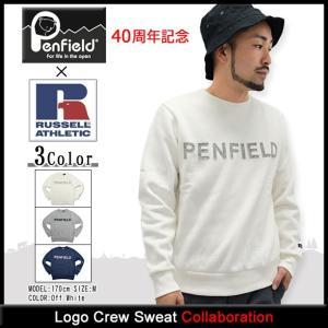ペンフィールド Penfield トレーナー メンズ ラッセル アスレティック ロゴ クルー スウェット(RUSSELL ATHLETIC 男性用 PF-2015AW-0410)|icefield