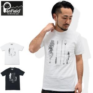 ペンフィールド Penfield Tシャツ 半袖 メンズ ペン アドベンチャー(Pen Adventure S/S Tee トップス メンズ 男性用 PF-2016SS-0413)|icefield