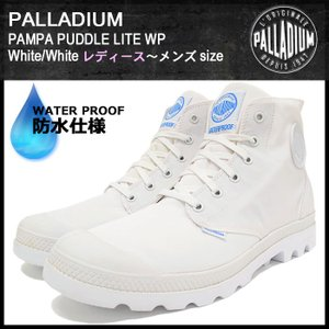 パラディウム PALLADIUM ブーツ レディース & メンズ パンパ パドル ライト WP White/White(PAMPA PUDDLE LITE WP Boot 73085-912) icefield