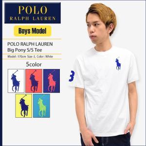 ポロラルフローレン POLO RALPH LAUREN Tシャツ 半袖 ボーイズモデル レディース・メンズ対応サイズ ビッグ ポニー(Big Pony Tee 32360516)|icefield