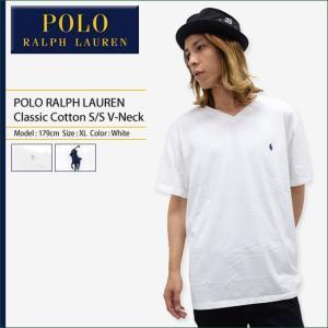 ポロラルフローレン POLO RALPH LAUREN カットソー 半袖 メンズ クラシック コットン(Classic Cotton S/S V-Neck トップス 710 548528)|icefield