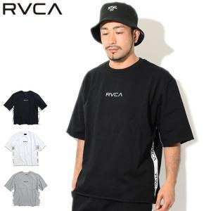 ルーカ カットソー 半袖 RVCA メンズ スモール ルーカ スウェット(Small RVCA Sw...
