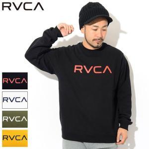 ルーカ トレーナー RVCA メンズ ビッグ ルーカ クルー スウェット(RVCA Big RVCA...