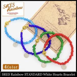 エスアールエス レインボー スタンダード SRES Rainbow STANDARD ホワイト ハーツ ブレスレット(White Hearts Bracelet)|icefield