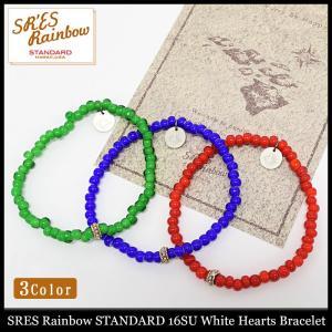 エスアールエス レインボー スタンダード SRES Rainbow STANDARD ブレスレット 16SU ホワイト ハーツ(16SU White Hearts Bracelet)|icefield
