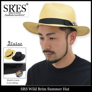 エスアールエス SRES ハット メンズ ワイルド ブリム サマー(SRS Wild Brim Summer Hat 帽子) icefield