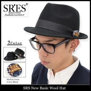 エスアールエス SRES ハット ニュー ベーシック ウール(SRS New Basic Wool Hat 帽子) icefield