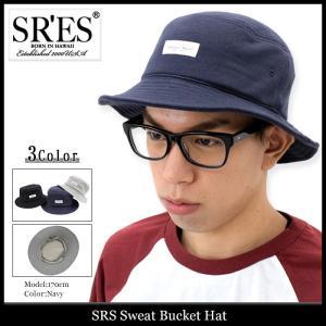 エスアールエス SRES ハット メンズ スウェット バケットハット(SRS Sweat Bucket Hat 帽子) icefield