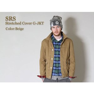 SRS(エスアールエス) Stretched Cover G-JKT|icefield