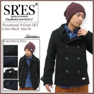 エスアールエス SRES ファンクショナル ピーコート ジャケット(SRS Functional P-Coat JKT) icefield