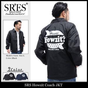 エスアールエス SRES ジャケット メンズ ハウジット コーチジャケット(SRS Howzit Coach JKT ナイロンジャケット アウター ブルゾン)|icefield